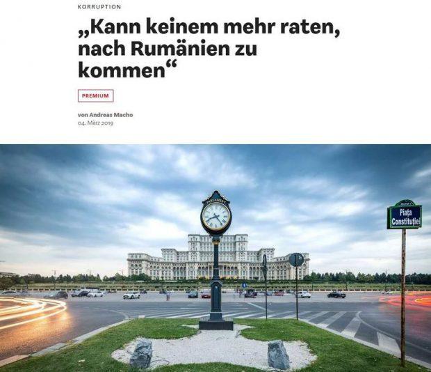 """Articolul cu titlul """"N-aș recomanda nici unei firme germane să vină aici"""" a fost publicat pe 4 martie 2019"""