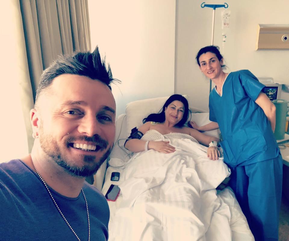 Cum arată Gabriela Cristea la două zile după ce a născut a doua oară