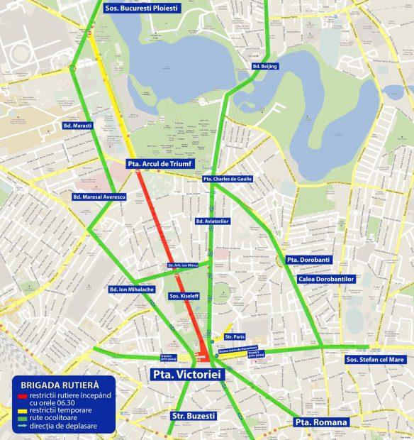 UPDATE / Transportatorii s-au înțeles cu Guvernul. Protestul din Piața Victoriei s-a încheiat cu trei ore mai devreme