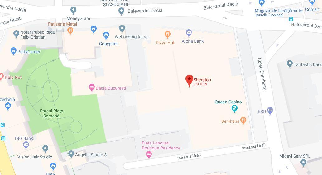 UPDATE: Amenințare falsă cu rachete la Hotelul Sheraton și Școala Americană, din Capitală. Persoana care a sunat la 112 a fost identificată