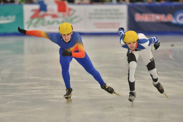 Emil Imre (stânga) a câștigat aurul la FOTE, acum șase ani
