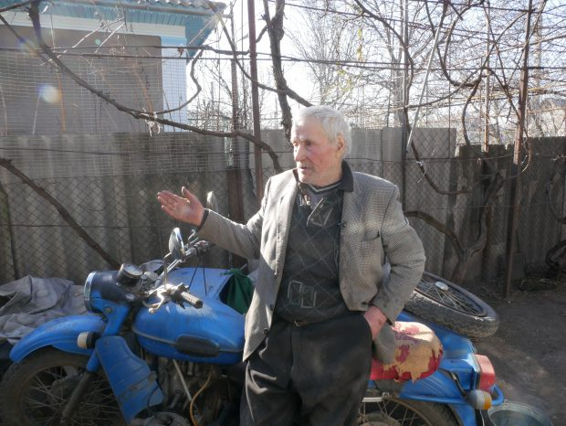 Petre Afanasiuc, locuitor din Mărculești