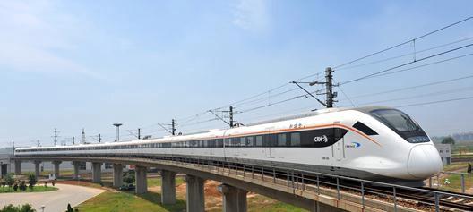 Tren de mare viteză CRRC din China