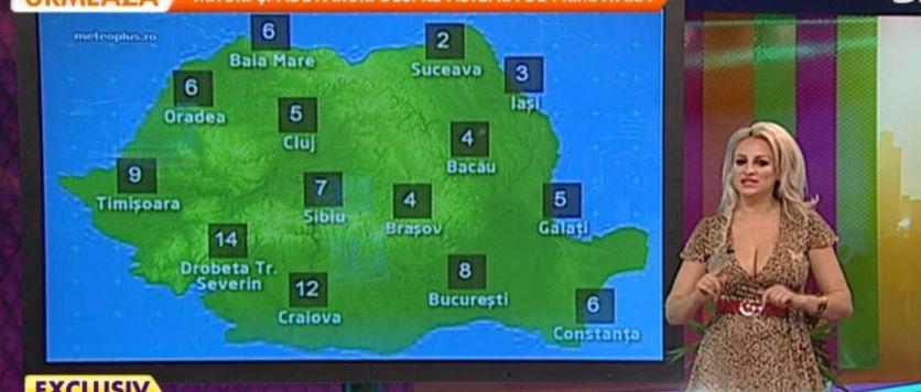 Sânziana Buruiană, prezentatoare la TV. Ce surpriză au avut telespectatorii