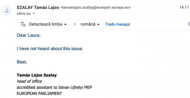 Adevăr sau fake news? Europarlamentarii unguri neagă că Dăncilă le-ar fi spus că nu există corupție în România, ci doar diferențe culturale