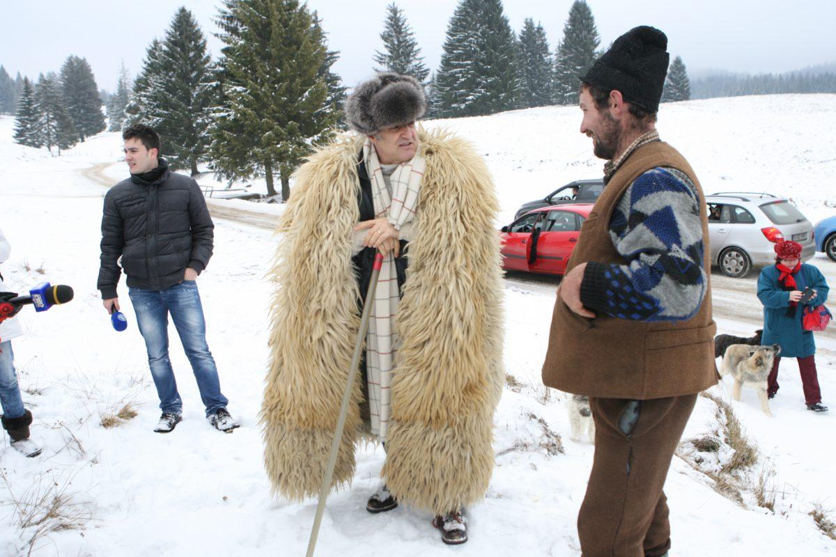 Gigi Becali se visa cioban, dar a ajuns latifundiar