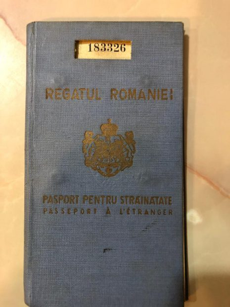 Pașaportul este pe numele Nicolae Roșca, județul Sibiu