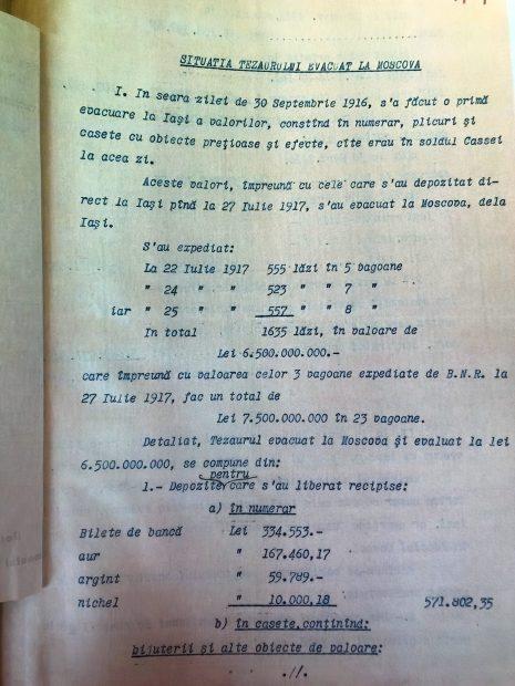 Prima pagină din cele 200 descoperite în compartimentul secret al dulapului
