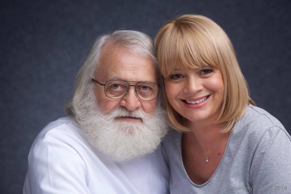 Alice Dumitrescu, alături de tatăl ei