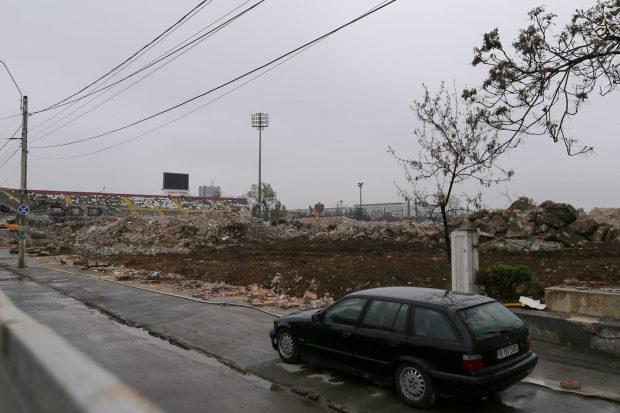 FOTO   Cum arată lucrările de la stadionul Rapid