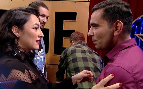"""Partenerul Andrei de la """"Dansez pentru tine"""", pe scena """"Românii au talent"""". Ce i-a spus artista atunci când l-a văzut"""