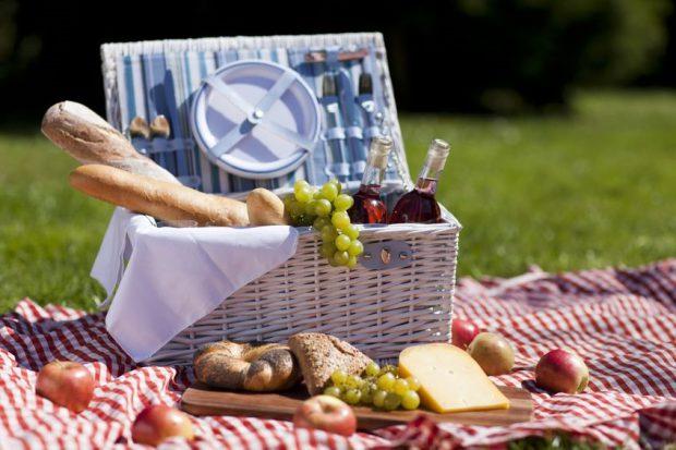 cos picnic cadou