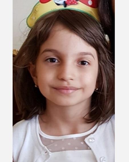 Aida, fetița Cristinei Spătar
