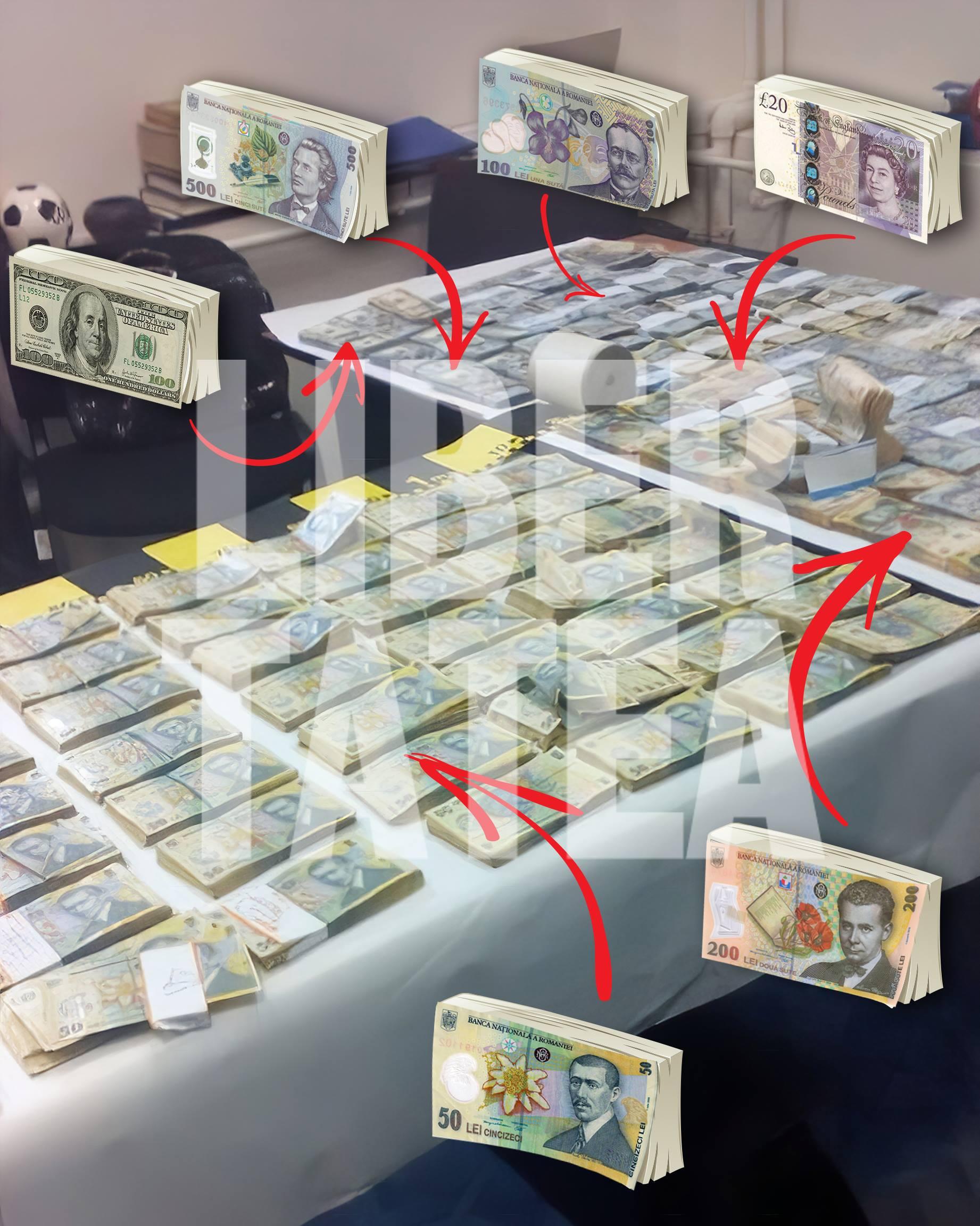 Înalta Curte ține secrete probele din dosarul Vâlcov, după ce Libertatea a publicat fotografia cu cei 1,3 milioane de lei și 90.000 de dolari confiscați la percheziție
