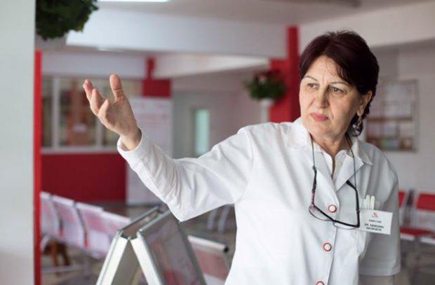 Doctorul Georgeta Hanganu, directorul Centrului de Transfuzie Sanguină Ploiești