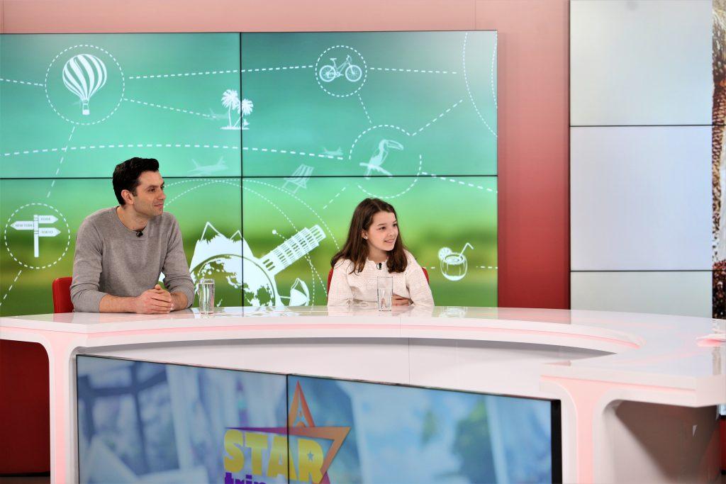 """VIDEO/ Eva Jumătate, fetița română de 11 ani care a ajuns în finala """"Suedezii au talent"""": """"O să locuiesc la Hollywood"""""""