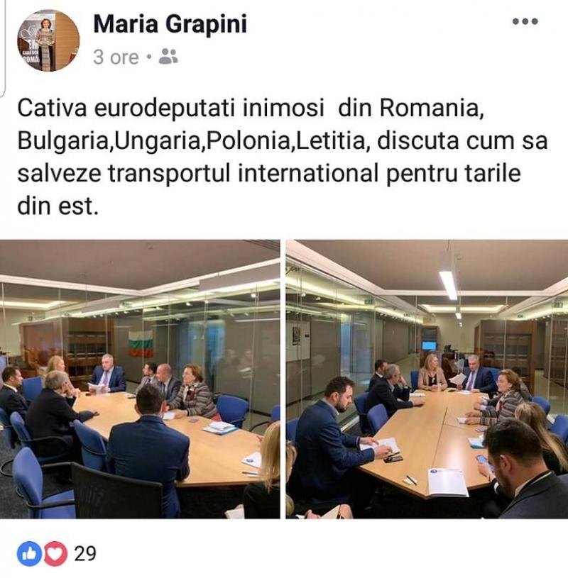 """Maria Grapini a inventat o țară nouă. """"Letiția"""" este noua membră UE"""