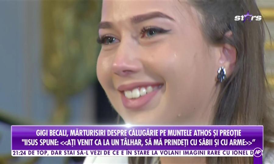Gigi Becali vrea să se călugărească! Patronul FCSB, intervievat de fiica lui Anghel Iordănescu, Maria, care a plâns în timpul dialogului