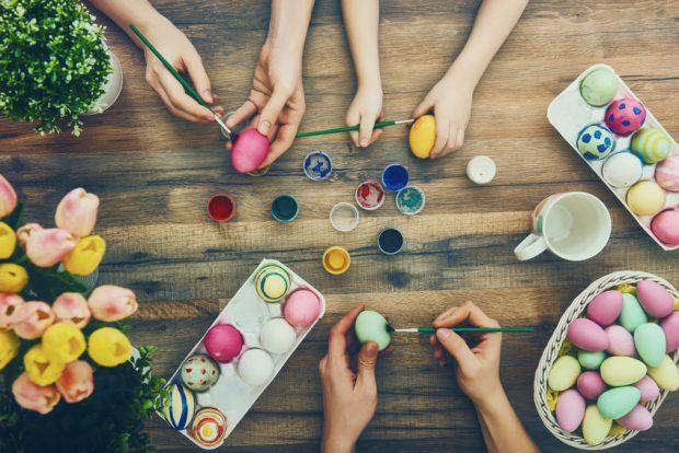 mesaje de paste familie oua vopsite