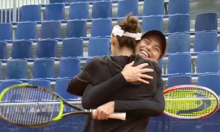 VIDEO / Sorana Cîrstea și Andreea Mitu, campioane la Lugano. Favoritele 3 au câștigat finala în supertie-break