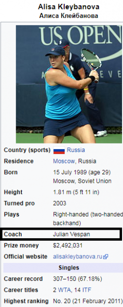 Aventurile fabuloase ale antrenorului de tenis Iulian Vespan. A fugit în Italia cu Adrian Voinea și a salvat-o de la moarte pe Alisa Kleybanova