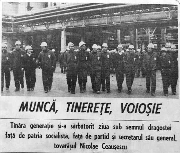 Un ziar din comunism, despre Ziua Muncii