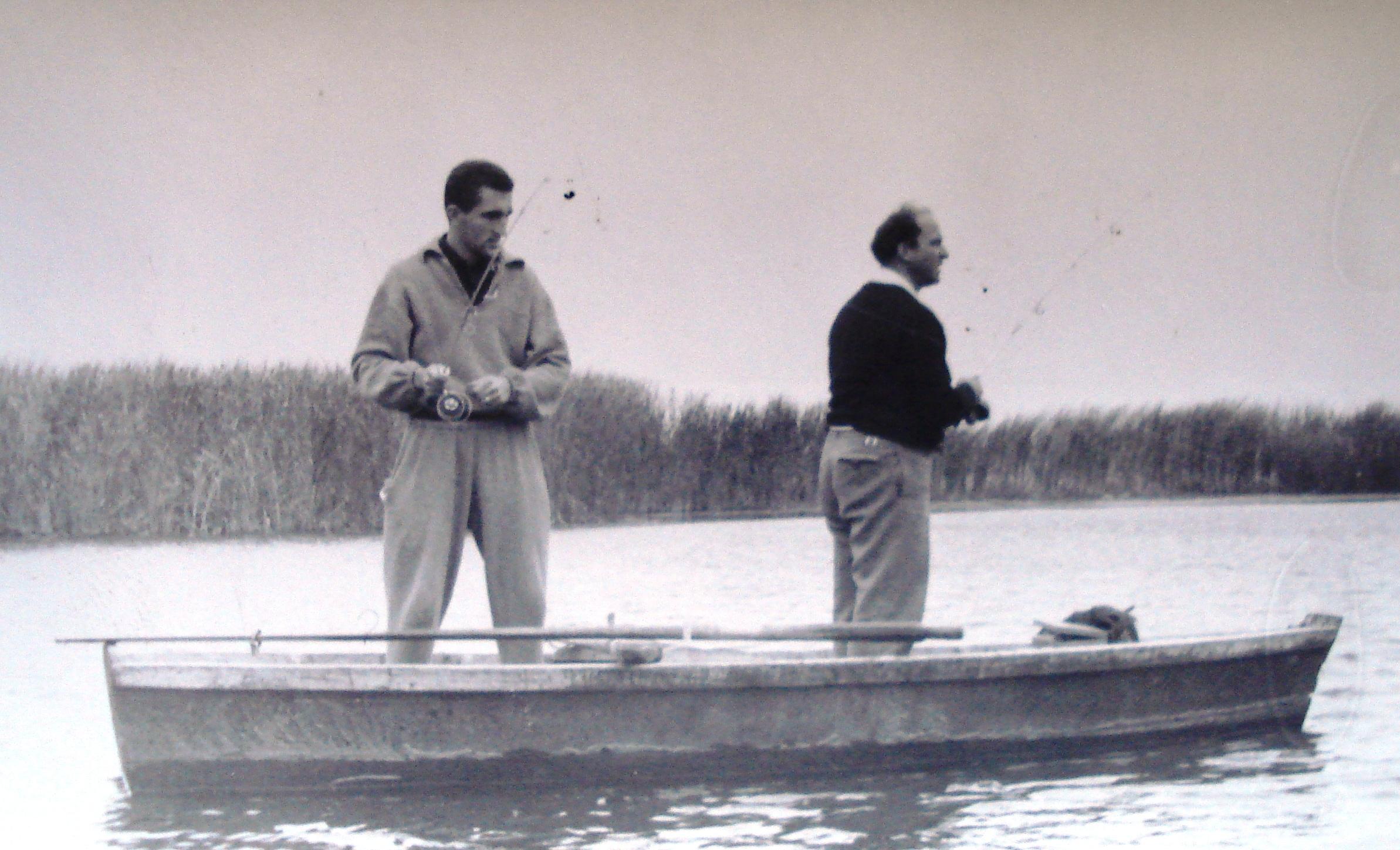 Ţiriac şi unul dintre hobby-urile sale: pescuitul