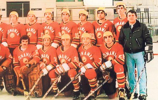Alături de tricolori. Ionescu, dreapta, a pregătit naționala de seniori între 1969 și 1970, și între 1974 și 1980.
