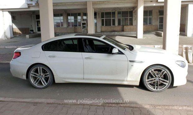 Un român a rămas fără BMW după ce a ajuns în vama Giurgiu