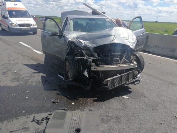 Accident pe DN1, în zona Băicoi