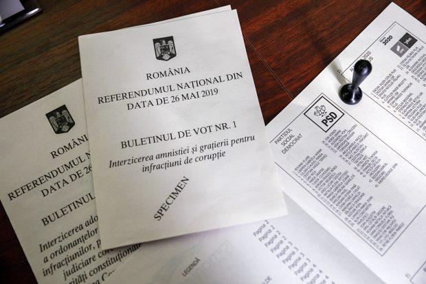 Aproape 6 milioane de români au spus DA la referendumul pentru justiție, comparativ cu 3,5 milioane care au spus DA la referendumul pentru definirea familiei