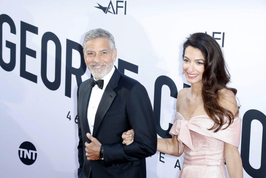 George și Amal Clooney