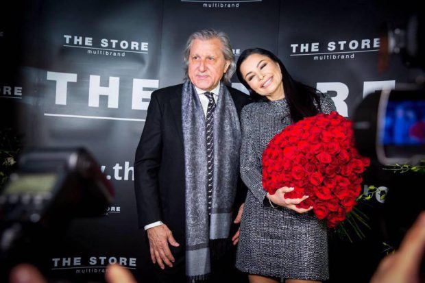 Brigitte Sfăt, alături de fostul ei soț, Ilie Năstase