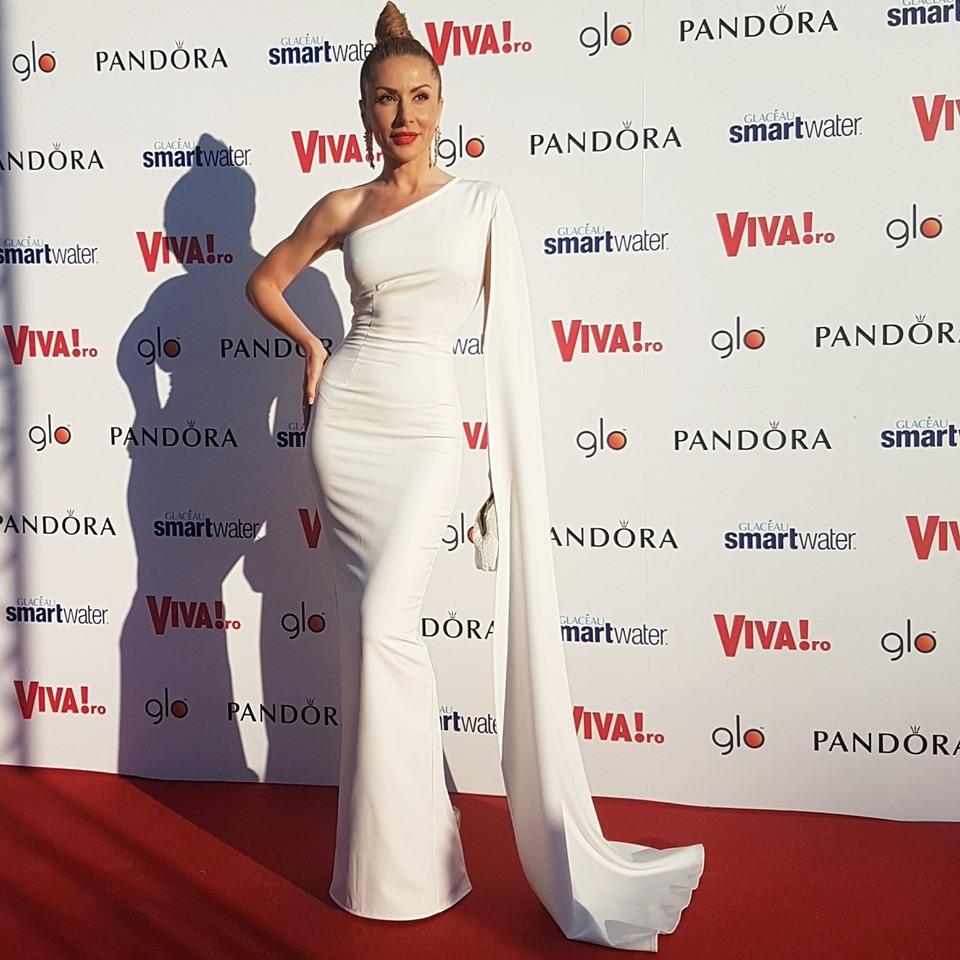 Carmen Brumă a afișat o siluetă impecabilă la Viva Party 2019