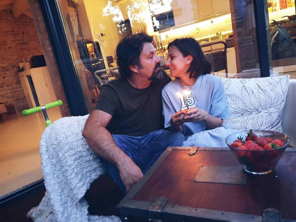 Dana Rogoz, alături de soțul ei, Radu Dragomir