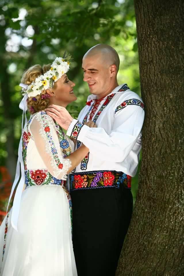 Elena Lasconi, alături de actualul ei soț, Cătălin