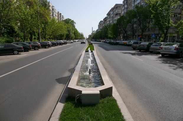 Fantani de pe Bd. Constantin Brâncoveanu, sector 4