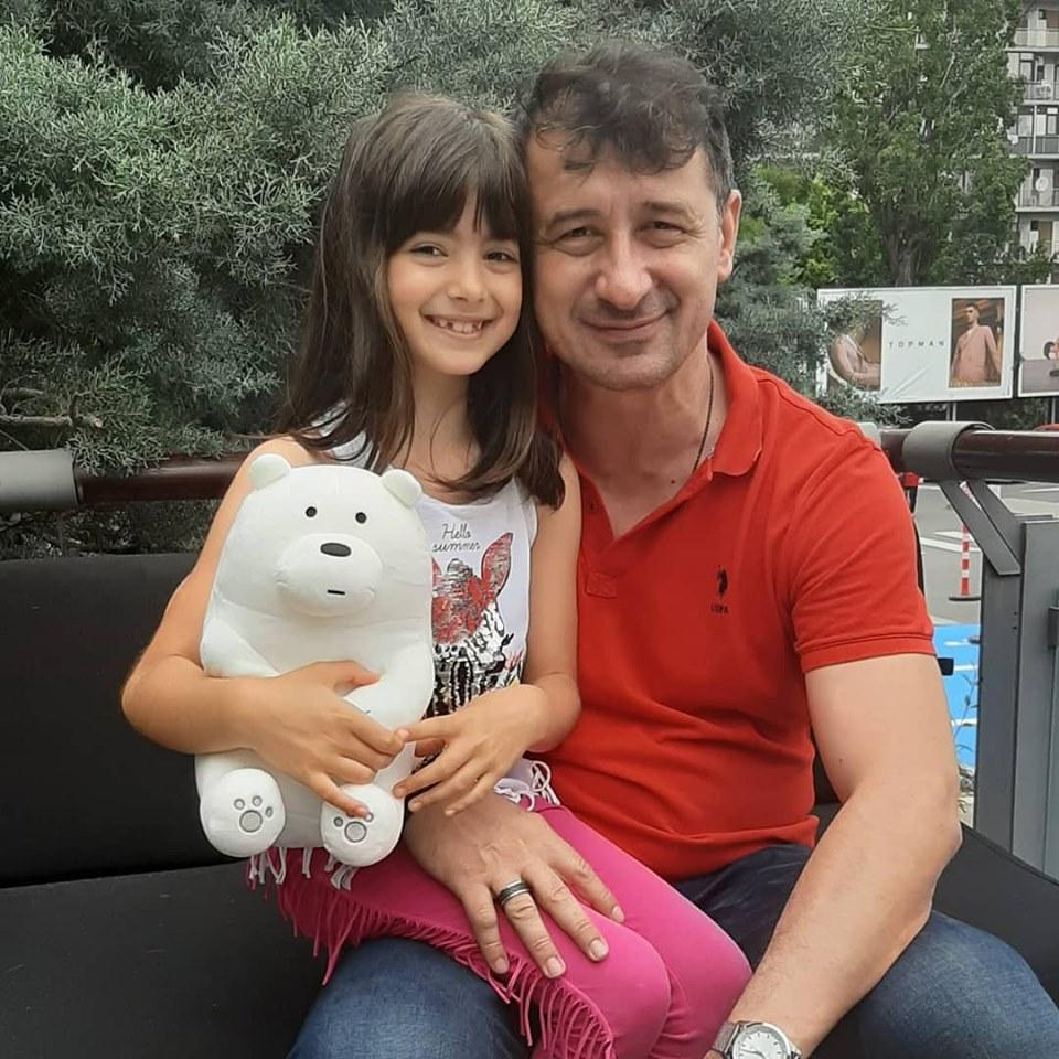 Cea mai frumoasă ipostază cu fiica Danielei Gyorfi și George Tal