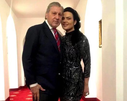 Ilie Năstase, alături de actuala sa parteneră de viață, Ioana Simion