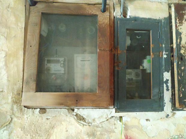 Contoare de energie electrică de la o casă din Cisnădie, județul Sibiu