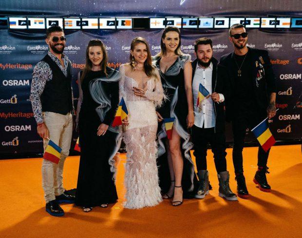 EUROVISION 2019 | Ester Peony a strălucit la ceremonia de deschidere a concursului de la Tel Aviv