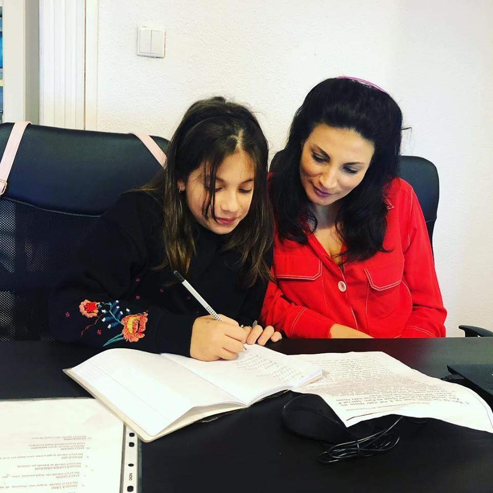 Ioana Ginghină, alături de fiica ei, Ruxi