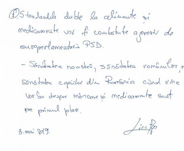 VIDEO | Ce promit partidele românilor, dacă îi votează la alegerile europarlamentare. Promisiunile lor, puse pe hârtie în timpul dezbaterii electorale din redacția Libertatea!