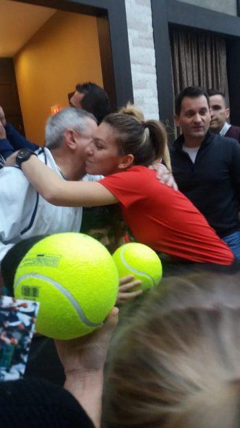"""EXCLUSIV / Simona Halep s-a supărat pe Daniel Dobre. """"Pălăria este un pic cam mare pentru el. Este o soluție de compromis"""""""