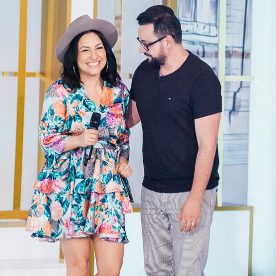 Andra și Cătălin Măruță, sărut pasional pe platourile de televiziune.