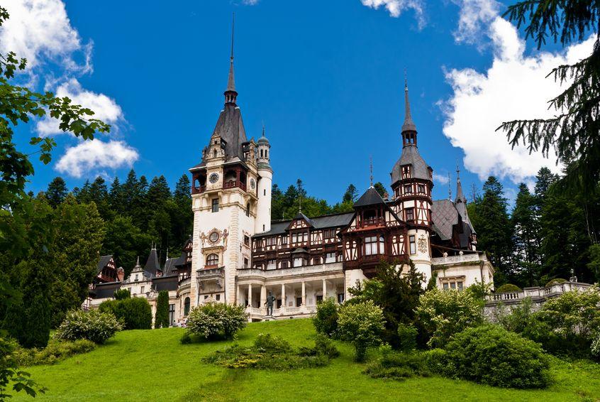 Castelul Peleș - vedere castel