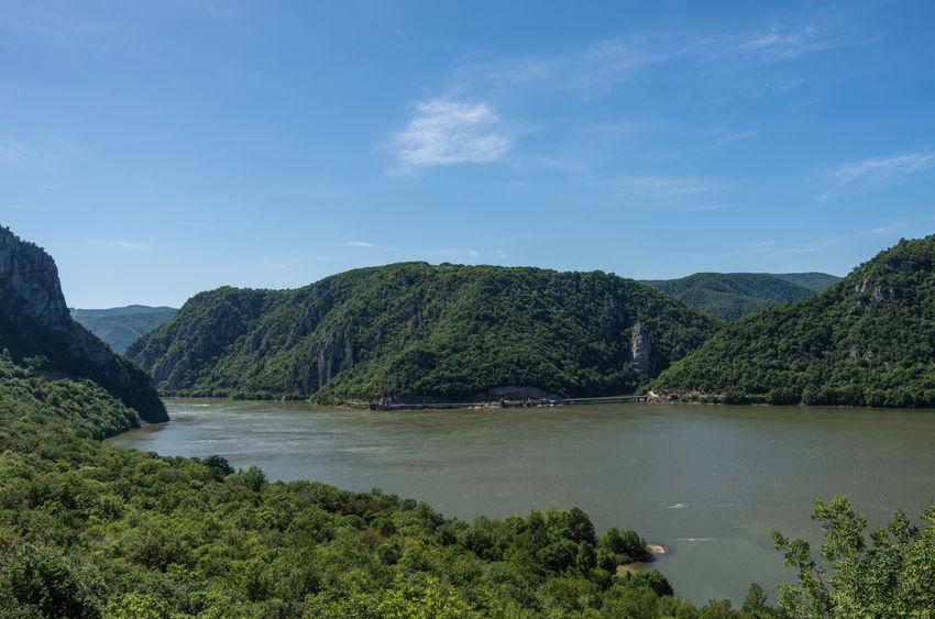 Cazanele Dunării - Statuia lui Decebal