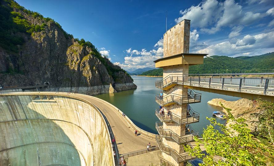 Barajul Vidraru, Transfăgărășan, România