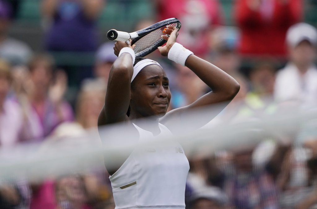 Cori Gauff a învins-o pe Venus Williams