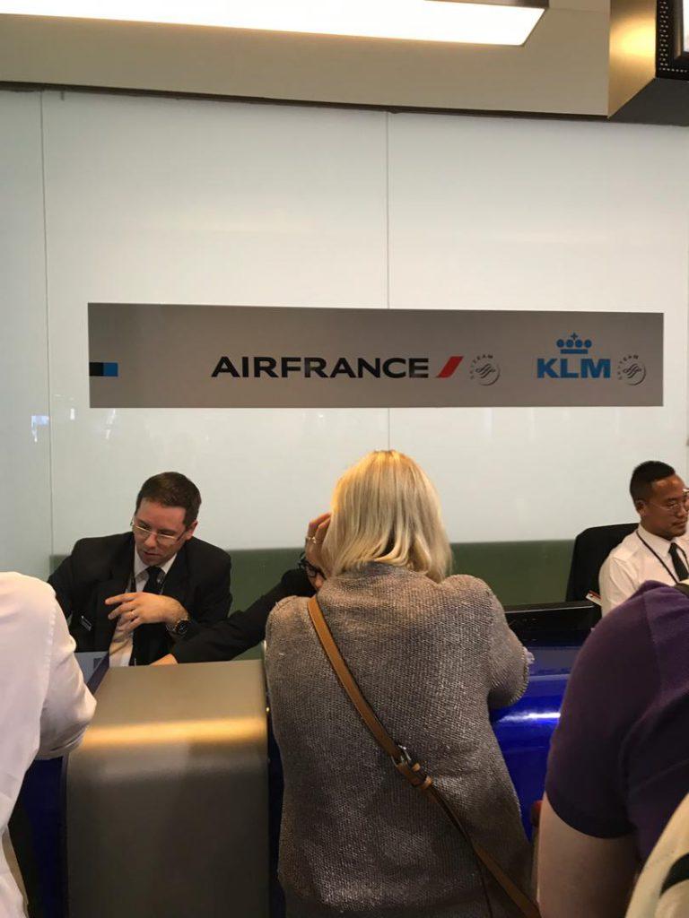 Zbor Air France anulat
